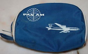 Vintage Pan Am Airlines First Class Amenity Bag