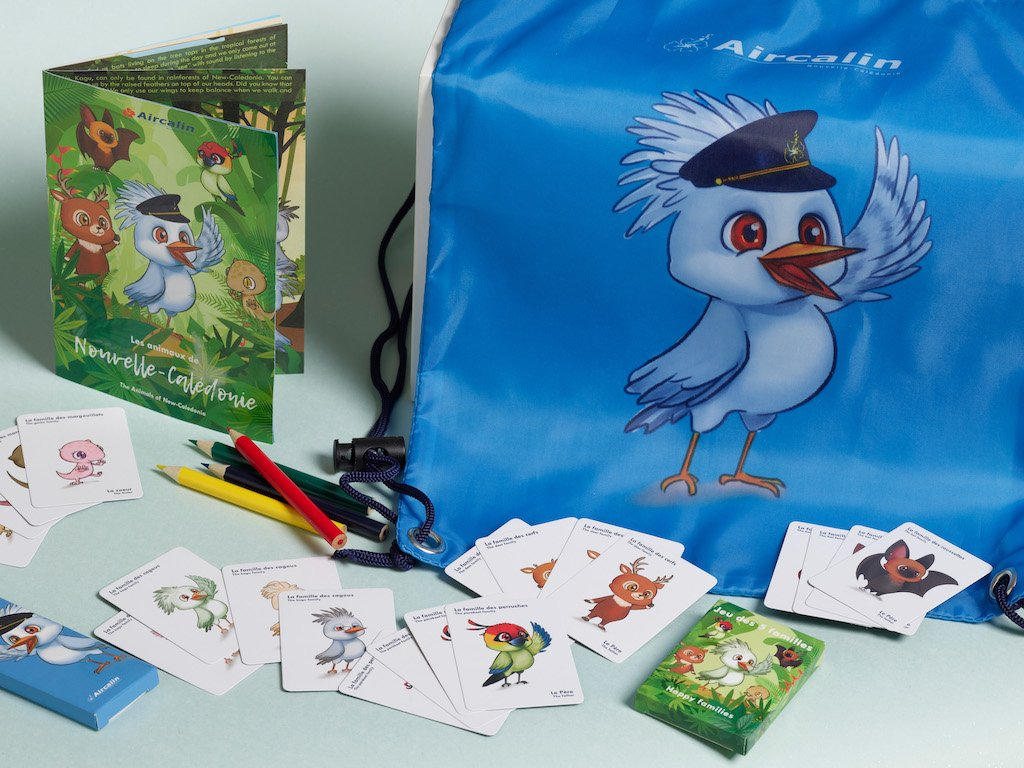 New Animal kits for Air Calin's Young Adventurers!