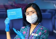 Malaysia Airlines gifts complimentary Hygiene Kit for all passengers