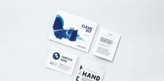 Finnair Safety Hygiene Clean Kit