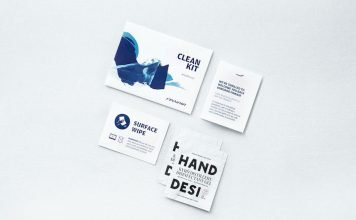 Finnair Safety Hygiene Clean Kit