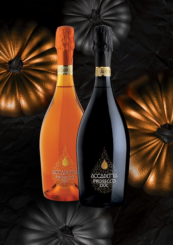 Bottega, winery and distillery from Treviso area (Italy), promotes Accademia Prosecco,