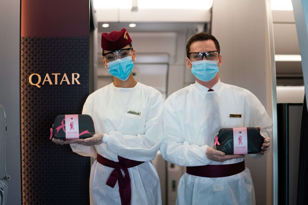 Limited edition BRIC'S amenity kits will be available on select Qatar Airways flights throughout October