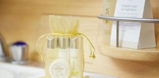 Emirates Luxury spa products Irish brand VOYA
