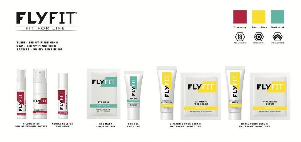 FlyFit New Skincare Product Range