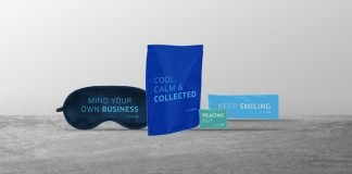 cheeky sayings on each of the products